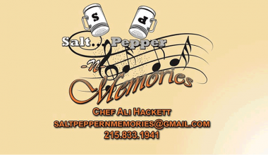 Salt and Pepper Memories Logo